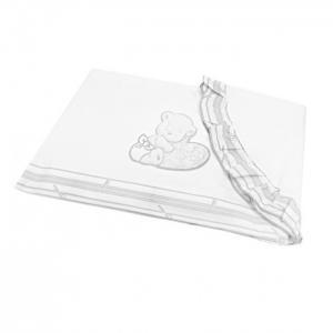 Постельное белье  Комплект из 3 предметов для кроватки Happy Love Oval Italbaby