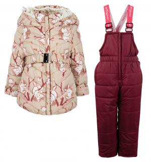 Комплект куртка/полукомбинезон , цвет: бежевый Boom