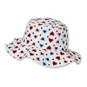 Шляпа Sterntaler. Цвет: белый