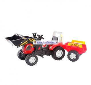 Трактор с ковшом и прицепом 981M Falk