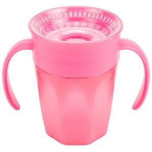 Чашка-непроливайка Dr.Browns Cheers 360° С ручками, 6 месяцев, цвет: розовый Dr.Brown's