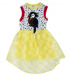 Платье , цвет: белый/желтый Nota Bene
