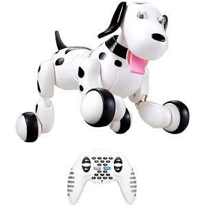 Радиоуправляемая собака-робот HappyCow Smart Dog, свет/звук FD Design. Цвет: разноцветный