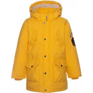 Куртка name it. Цвет: желтый