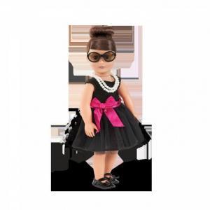 Комплект одежды ДеЛюкс с черным платьем и жемчужным ожерельем Our Generation Dolls
