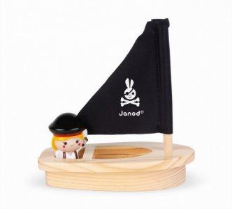 Набор для воды Капитанша Мэло и ее лодка Janod