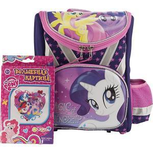 Ранец  My Little Pony, без наполнения Академия групп. Цвет: фиолетовый
