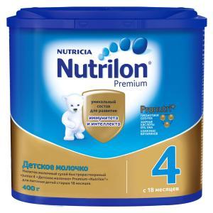 Молочная смесь  Premium 4 с 18 месяцев, 400 г Nutrilon