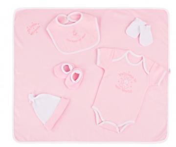 Трикотажный набор с вышивкой (6 предметов) 31096 Little People