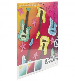 Набор для лепки из пластилина  Трафареты Гитара DohVinci