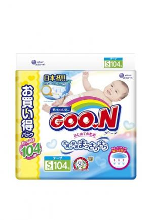 Подгузники  Jumbo Pack S (4-8 кг) 104 шт. Goon