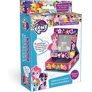 Скрапбукинг  My little pony Шкатулка-фоторамка, 10х10х3 см Origami. Цвет: разноцветный