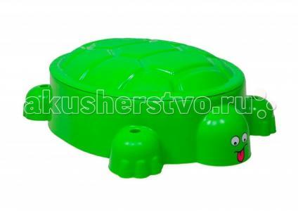 Песочница Черепаха с крышкой Т00743 Paradiso