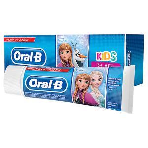Зубная Паста  Kids Дисней «Холодное Сердце»/«Тачки» 75мл, От 3 Лет, Мягкий Вкус Oral-B