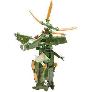 Самолет и Робот 2 в 1 Девилон Военный вертолет Devik Toys
