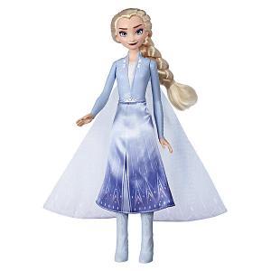 Кукла Disney Princess Холодное сердце 2 Сверкающее платье, Эльза Hasbro. Цвет: разноцветный