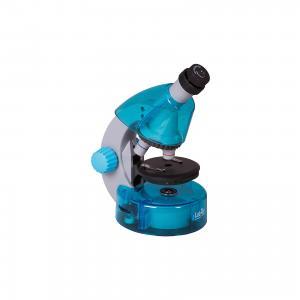 Микроскоп  LabZZ M101 Azure\Лазурь Levenhuk