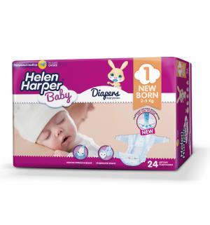 Подгузники  Baby Newborn (2-5 кг) 24 шт. Helen Harper
