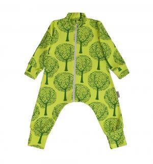 Комбинезон  Деревья, цвет: зеленый Bambinizon