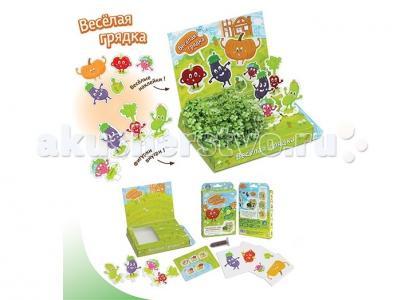 Набор для выращивания Весёлая грядка Happy Plant