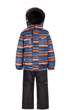 Комплект куртка/полукомбинезон , цвет: оранжевый/синий Zingaro By Gusti