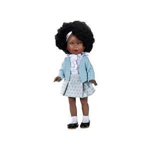 Кукла  Весна Классика Паулина африканка, 33 см Vestida de Azul. Цвет: разноцветный