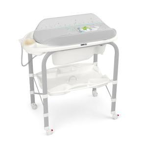 Пеленальный стол  bio, цвет: серый/зайчик Cam