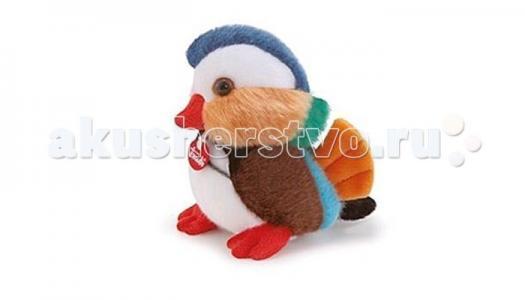 Мягкая игрушка  Уточка мандаринка делюкс 14 см Trudi