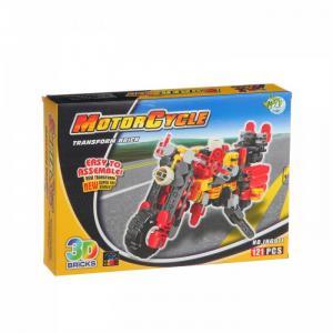 Конструктор  Toys Страйп Мотоцикл JH6911 (121 элемент) Dragon