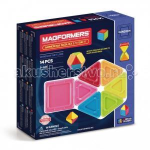 Конструктор  Магнитный Window Solid 14 элементов Magformers