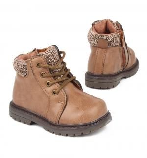 Ботинки , цвет: бежевый Прыг-Скок