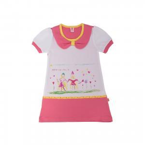 Платье  для девочки Goldy. Цвет: разноцветный
