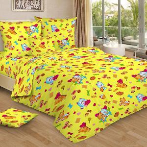 Детское постельное белье 3 предмета , BG-93 Letto. Цвет: желтый