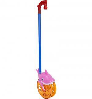 Каталка на палочке  Веселая акула, 65 см S+S Toys