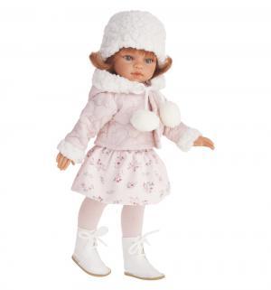 Кукла  Эльвира зимний образ рыжая 33 см Juan Antonio