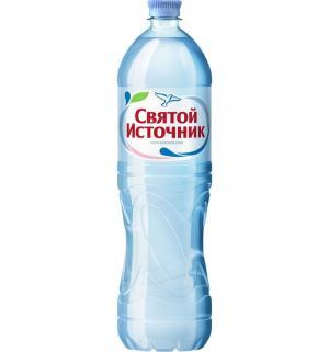 Вода  Негазированная, 1.5 л, 1 шт Святой Источник