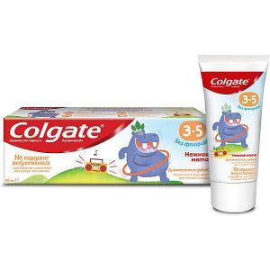 Детская зубная паста  нежная мята без фтора, 3-5 лет, 60 мл Colgate
