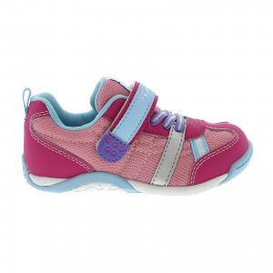 Кроссовки  для девочки Tsukihoshi. Цвет: розовый