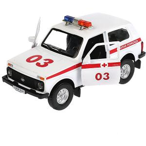 Машина Технопарк Lada Скорая