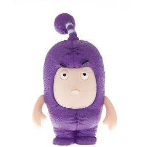 Фигурка-чудик  Джефф, 4,5 см Oddbods. Цвет: фиолетовый