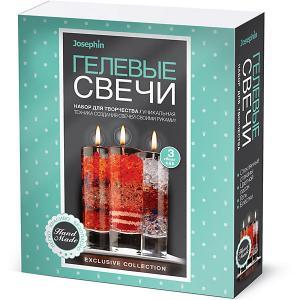 Набор для создания гелевых свечей Josephin, № 4 Josephine. Цвет: разноцветный