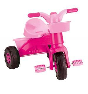 Велосипед  Мой первый, цвет: розовый Dolu