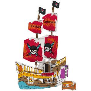 Сборная раскраска  Корабль Корсар CartonHouse. Цвет: белый