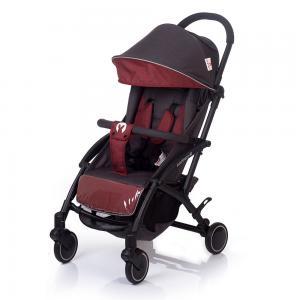 Прогулочная коляска  Allure, цвет: темно-серый/красный BabyHit