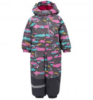 Комбинезон  утепленный, цвет: серый Lappi Kids