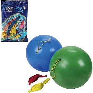 Воздушные шары 16 Веселая затея Панч-болл 25 шт, 41 см (8 рисунков, 12 цветов пастель)