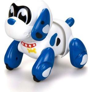 Интерактивная собака  Ycoo nFriends Руффи 13 см цвет: белый/голубой Silverlit