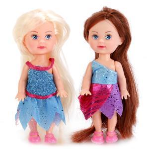 , Кукла Машенька-фея с крылышками, 12см, в ассорт. Карапуз