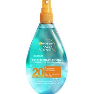 Спрей для тела  Ambre Solaire Солнечная вода SPF 20 , 150 мл Garnier