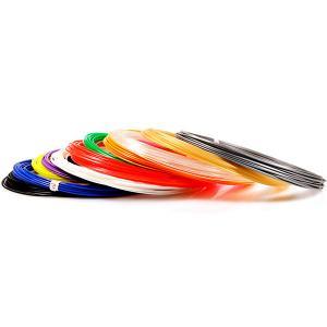 Комплект пластика  PLA для 3Д ручек, 15 цветов в органайзере Unid. Цвет: разноцветный